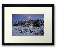 Campsie Hills Framed Print