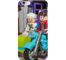 Marty and Doc ride iPhone Case/Skin
