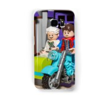 Marty and Doc ride Samsung Galaxy Case/Skin
