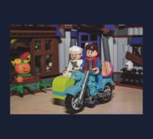 Marty and Doc ride Kids Tee
