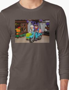 Marty and Doc ride Long Sleeve T-Shirt