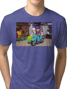 Marty and Doc ride Tri-blend T-Shirt
