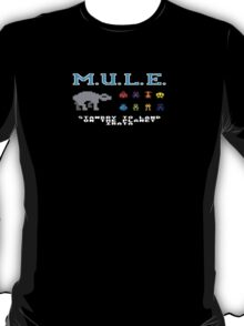 The Multiple Use Labor Element, or M.U.L.E. T-Shirt