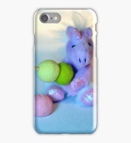 Cute Unicorn with Dango iPhone Case/Skin