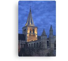 Rochester Cathedral  (HDR) Canvas Print