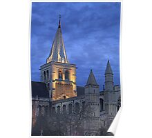 Rochester Cathedral  (HDR) Poster