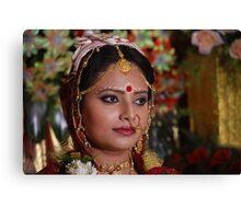 Bengali Bride Canvas Print