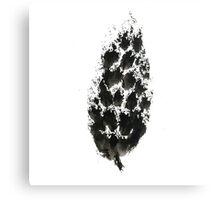 pine cone (haiga XXI) Canvas Print