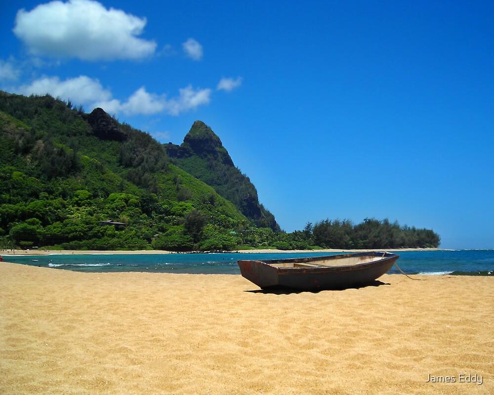 Boat and Bali Hai by James Eddy