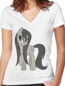 Wet Mane Octavia Women's Fitted V-Neck T-Shirt