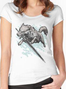 The Swordswolf Women's Fitted Scoop T-Shirt