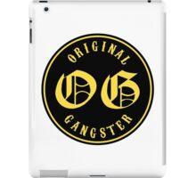 O.G. Original Gangster iPad Case/Skin