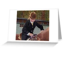Remember When... Horse and Child Painting Greeting Card