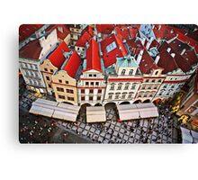 Buildings in Prague, Czech Republic Canvas Print