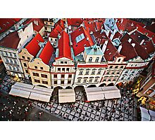 Buildings in Prague, Czech Republic Photographic Print