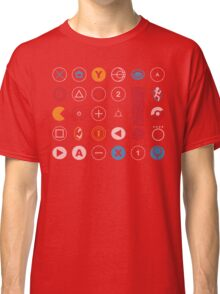 Video Game Icons Classic T-Shirt