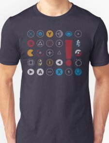 Video Game Icons Unisex T-Shirt