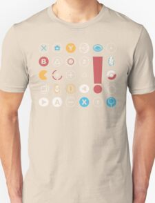 Video Game Icons T-Shirt