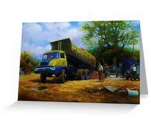 Thames Trader tipper. Greeting Card
