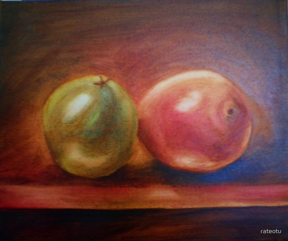 orange and mango by rateotu