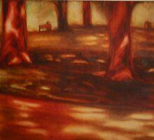 dappled light, Rosalind Park by rateotu