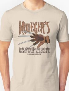 Krueger's Dream Interpretation And Child Care T-Shirt