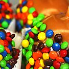 M&M Candy Apples by Robin Lee