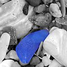 Seaglass (black and white) by Robin Lee