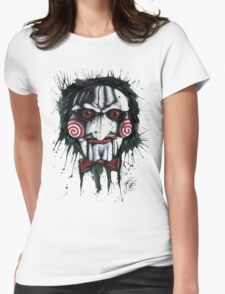 The Horror of Jigsaw Womens Fitted T-Shirt