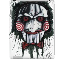 The Horror of Jigsaw iPad Case/Skin