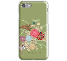 Flowers by Number iPhone Case/Skin