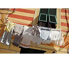 Monday is Washing Day. Photographic Print