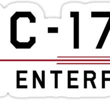 ST Registry Series - Mirror Enterprise Logo Sticker