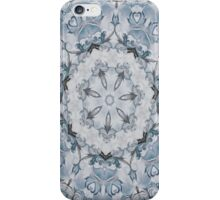 Baroque Blue Rosette- N67 iPhone Case/Skin