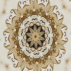 Classical Ornate Golden Yellow - N84 by Heidivaught