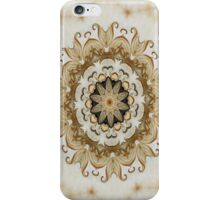 Classical Ornate Golden Yellow - N84 iPhone Case/Skin