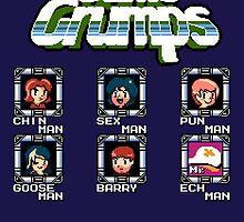 Game Grumps Megaman by Sam Smith