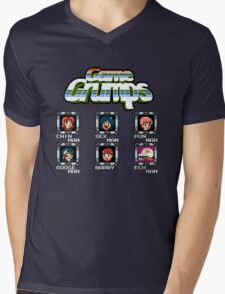 Game Grumps Megaman Mens V-Neck T-Shirt