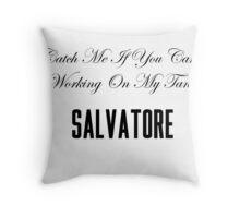 Lana Del Rey Salvatore Throw Pillow