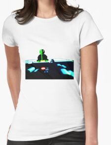 Bored Project Womens Fitted T-Shirt