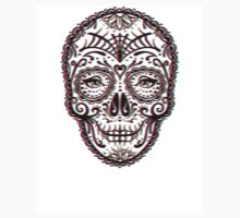 Sugar Skull (Calavera) Chromatic Aberration - Cyan Magenta Yellow by Adam Miconi