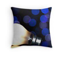 Bright Idea! Throw Pillow