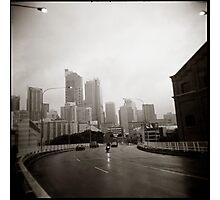 { gloomy city } Photographic Print