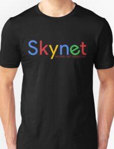 Terminator Skynet (Google) New Logo with Description T-Shirt