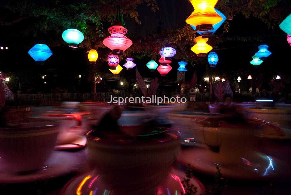Disneyland Teacups by Jsprentallphoto