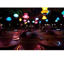 Disneyland Teacups Photographic Print
