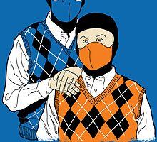 Kombat Brothers by kentcribbs