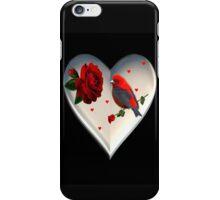 "*•.¸♥♥¸.•*CARDINAL HEART OF LOVE ""DID I TELL U THAT I LOVE U""??*•.¸♥♥¸.•* iPhone Case/Skin"