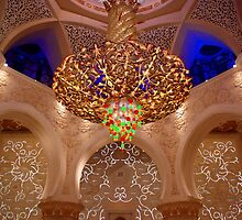 the chandelier by Baha Mosa