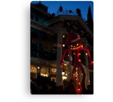 Haunted Mansion, Disneyland Canvas Print